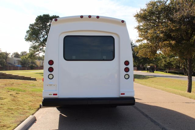 2011 Chevy Express G4500 Turtle Top 13 Passenger Shuttle Bus W/ Wheelchair Lift - Diesel Irving, Texas 3