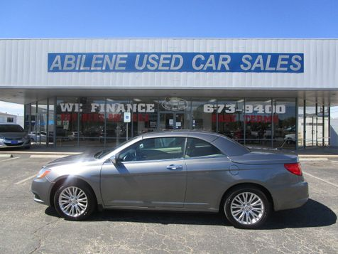 2011 Chrysler 200 Limited convertible in Abilene, TX