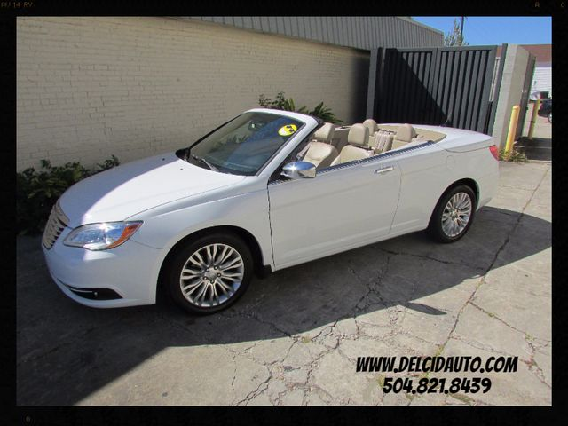 2011 Chrysler 200 Limited HARD TOP CONVERTIBLE