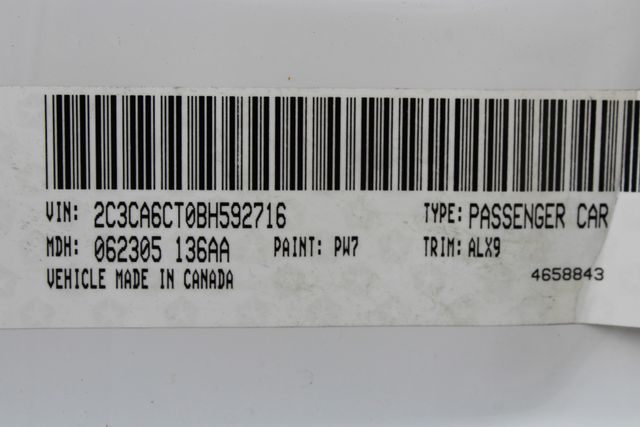 2011 Chrysler 300 300C CONROE, TX 59