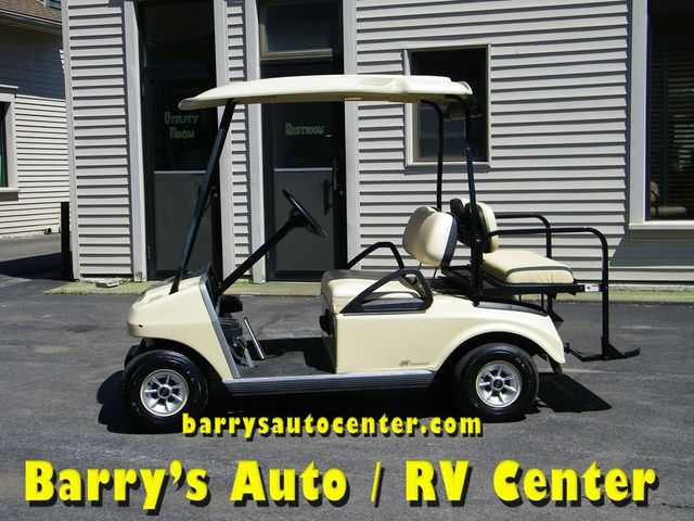 2011 Club Car Electric Golf Cart With Rear Seat