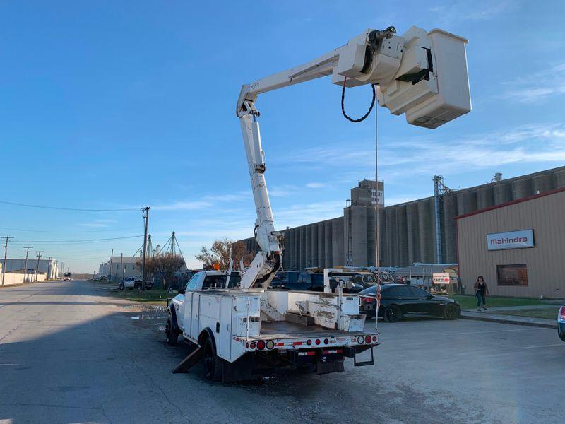 2011 Dodge 5500 4x4 Bucket Truck   city TX  North Texas Equipment  in Fort Worth, TX