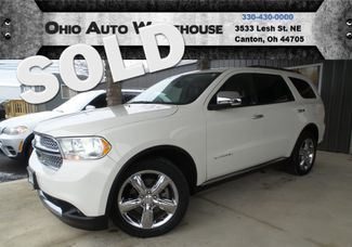 2011 Dodge Durango Citadel AWD HEMI Navi Tv/DVD 3rd Row We Finance | Canton, Ohio | Ohio Auto Warehouse LLC in Canton Ohio