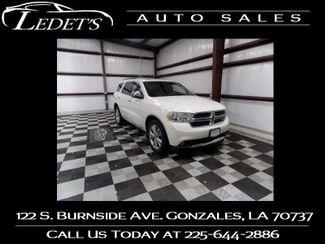 2011 Dodge Durango Crew - Ledet's Auto Sales Gonzales_state_zip in Gonzales