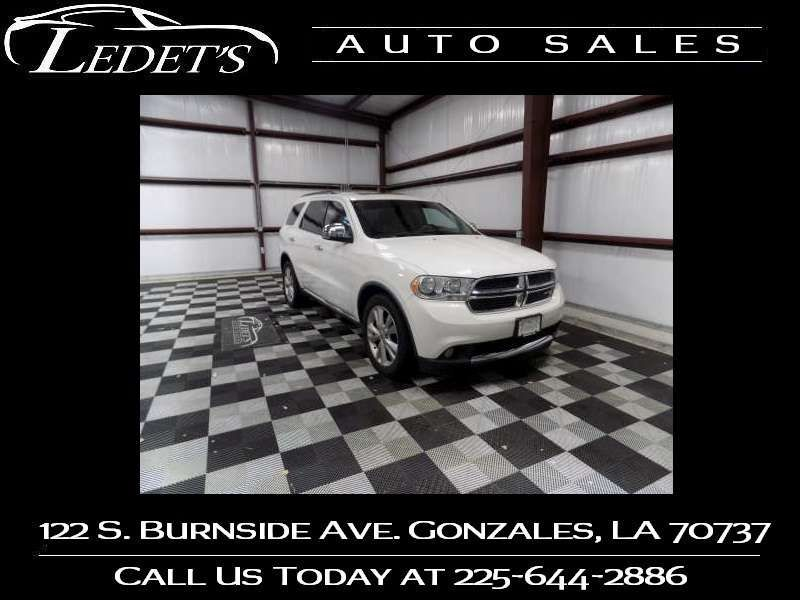 2011 Dodge Durango Crew - Ledet's Auto Sales Gonzales_state_zip in Gonzales Louisiana