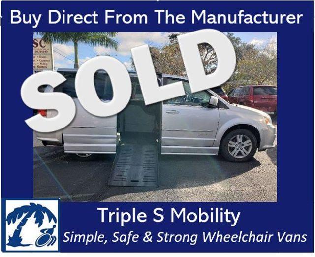2011 Dodge Grand Caravan Crew Wheelchair Van Handicap Ramp Van DEPOSIT