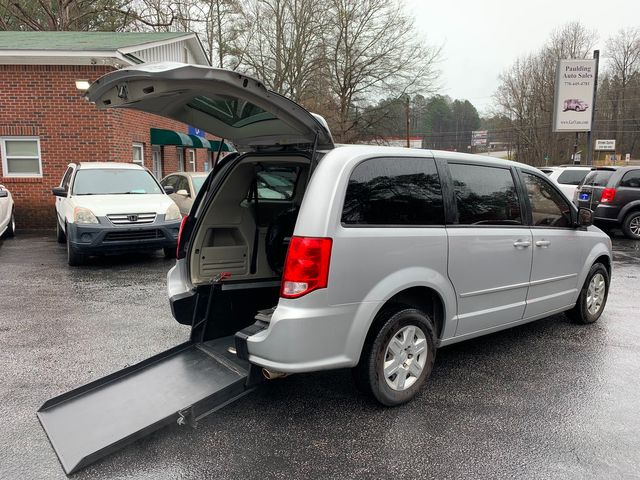 2011 Dodge Grand Caravan handicap wheelchair accessible rear entry van