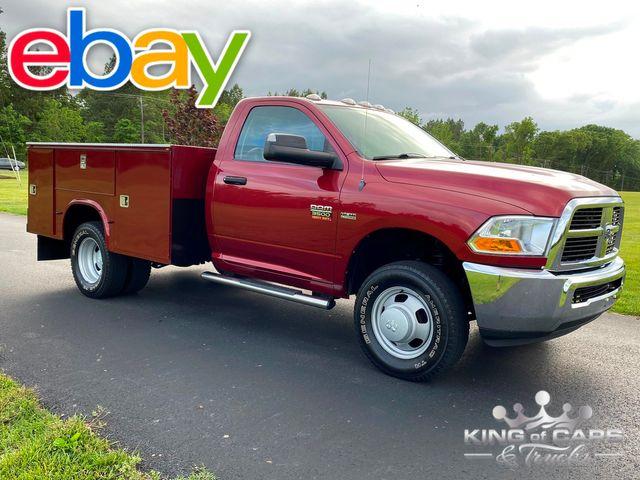 2011 Dodge Ram 3500 4x4 Rcab DRW W/T UTILITY ONLY 26K MILES 5.7L HEMI