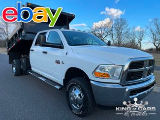 2011 Dodge RAM 3500 DRW 6 SPEED MANUAL MASON DUMP 4X4 in Woodbury, New Jersey 08093