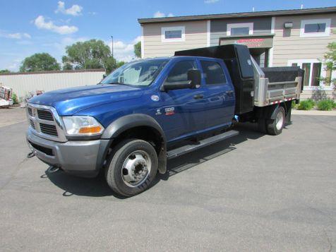 2011 Dodge RAM 5500 4x2 Crew Crew 9' Alum Contractor Dump  in St Cloud, MN