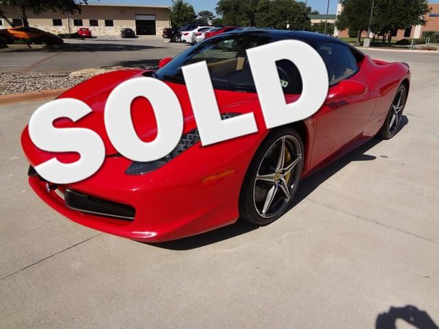 2011 Ferrari 458 Italia Austin , Texas 0