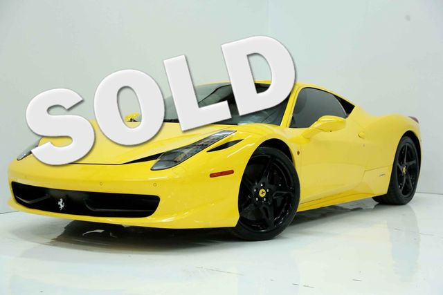 2011 Ferrari 458 Italia Houston, Texas