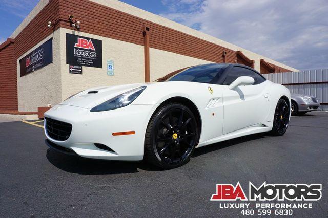 2011 Ferrari California Convertible Carbon LED Wheel Diamond Stitched Seat in Mesa, AZ 85202