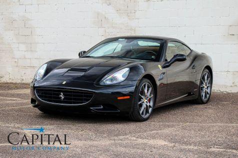 2011 Ferrari California Roadster w/Magneride Dual Mode Suspension, CF Steering Wheel and 20