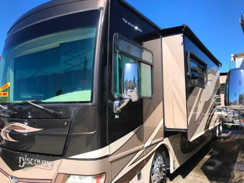 2011 Fleetwood DISCOVERY 42C 3 slides Outside Kitchen with TV and Sterio in Palmetto, FL
