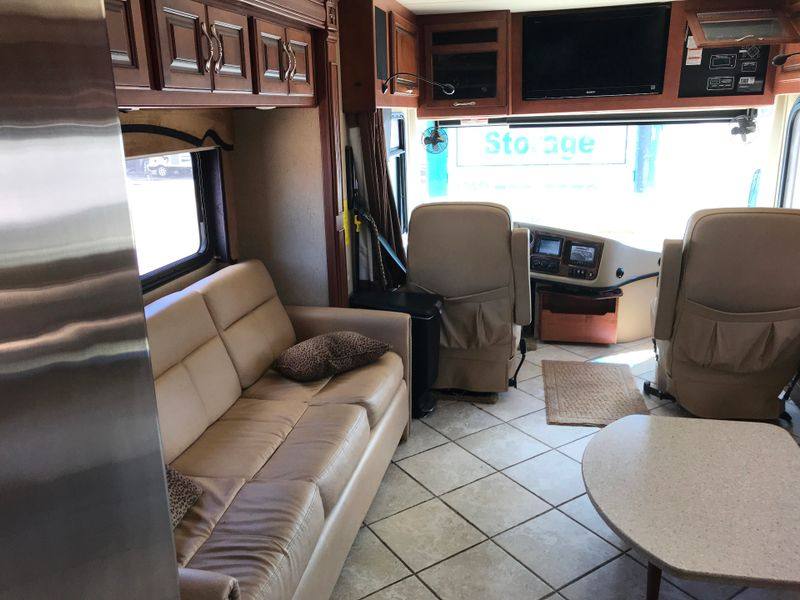 2011 Fleetwood DISCOVERY 42C 3 slides Outside Kitchen with TV and Sterio  city FL  Manatee RV  in Palmetto, FL