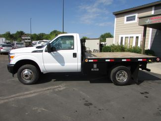 2011 Ford F-350 4x4 Flat Bed Truck in St Cloud, MN