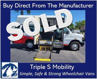2011 Ford E-350 Extended Wheelchair Van Handicap Ramp Van in Pinellas Park, Florida 33781