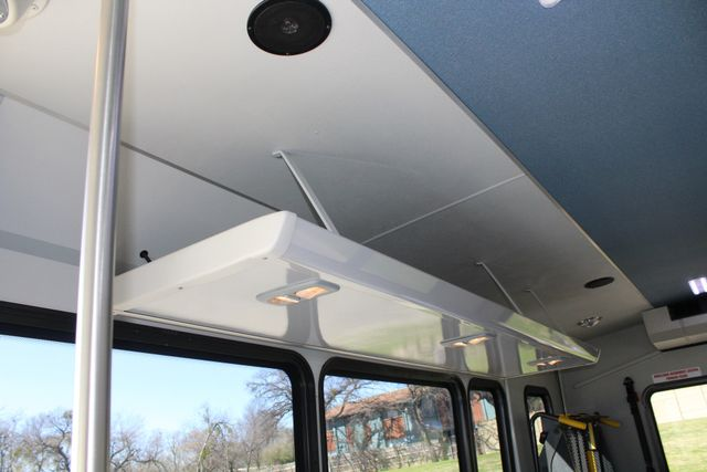 2011 Ford E450 15 Passenger Glaval Shuttle Bus With Wheelchair Lift Irving, Texas 17