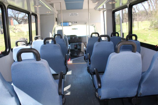 2011 Ford E450 15 Passenger Glaval Shuttle Bus With Wheelchair Lift Irving, Texas 26