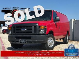 2011 Ford E-Series Cargo Van Commercial   Lewisville, Texas   Castle Hills Motors in Lewisville Texas