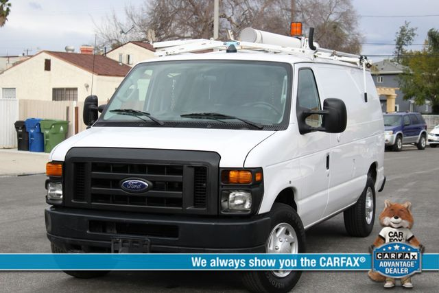 2011 Ford E-SERIES CARGO VAN COMMERCIAL 1-OWNER