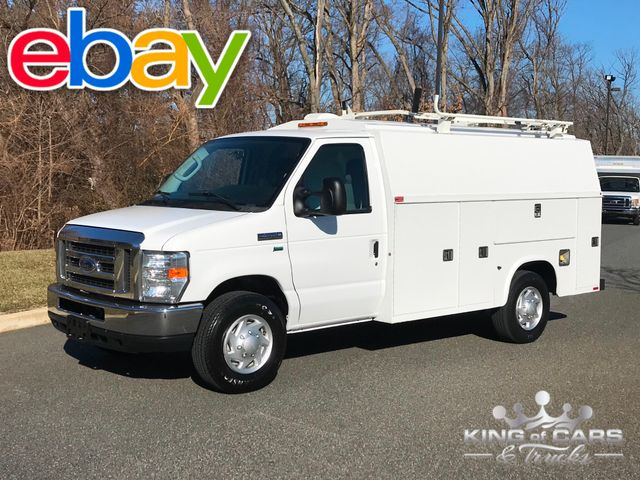 2011 Ford E-Series E-350 CUTAWAY UTILITY SEEVICE VAN MINT LOW MILES