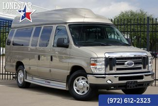 2011 Ford E350 Raised Roof XLT Braun Wheel Chair Lift in Plano Texas, 75093