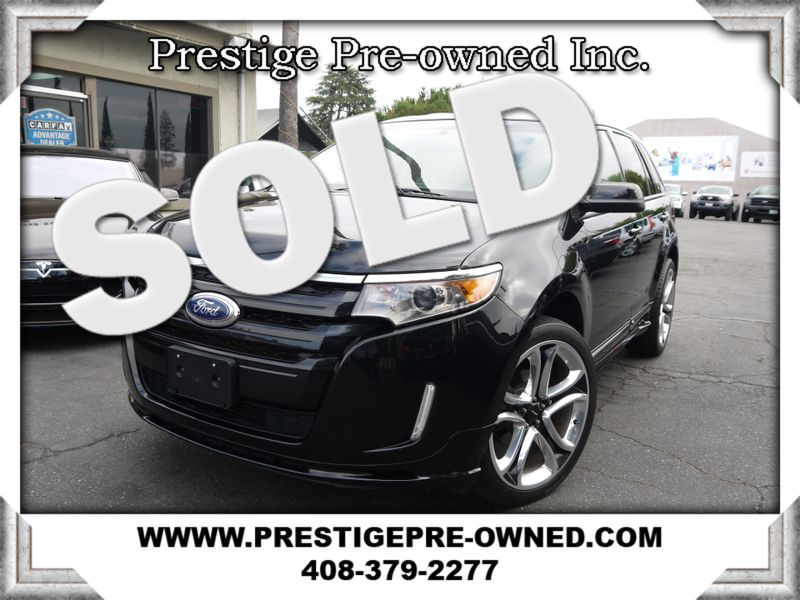 2011 Ford EDGE SPORT ((**NAVIGATION & BACK UP CAMERA**))  in Campbell CA