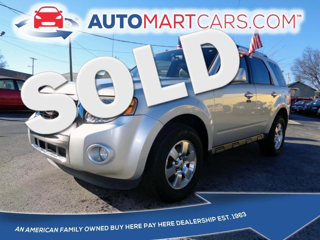 2011 Ford Escape Limited | Nashville, Tennessee | Auto Mart Used Cars Inc. in Nashville Tennessee