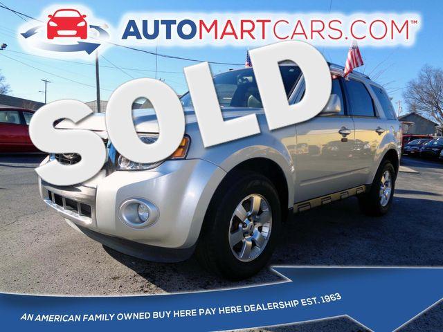 2011 Ford Escape Limited   Nashville, Tennessee   Auto Mart Used Cars Inc. in Nashville Tennessee