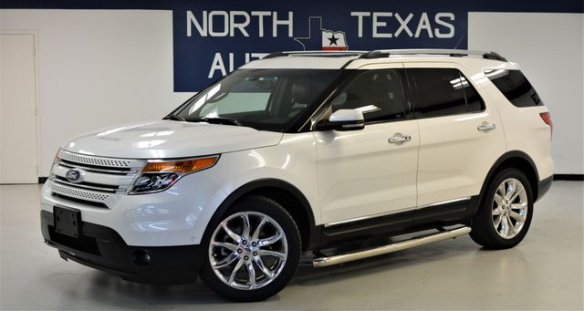 2011 Ford Explorer Limited Pano 3rd Row