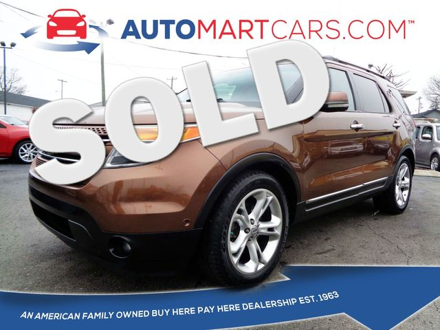 2011 Ford Explorer Limited   Nashville, Tennessee   Auto Mart Used Cars Inc. in Nashville Tennessee