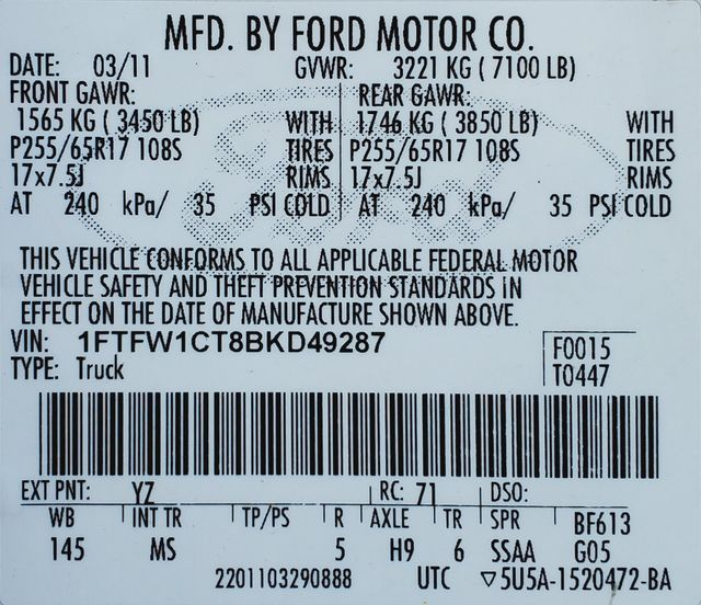 2011 Ford F-150 EcoBoost in American Fork, Utah 84003