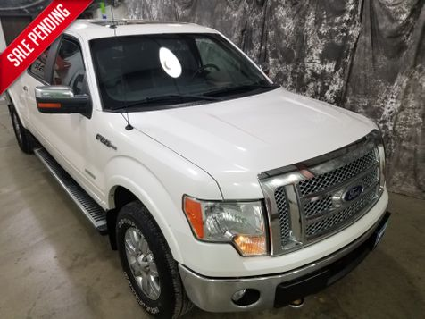 2011 Ford F-150 Lariat Crew Long Box  4x4 Eco in Dickinson, ND