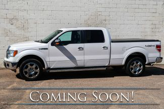 2011 Ford F-150 Lariat Crew Cab 4x4 with Nav, Backup Cam, Heated/Cooled Seats & Tow Pkg in Eau Claire, Wisconsin 54703