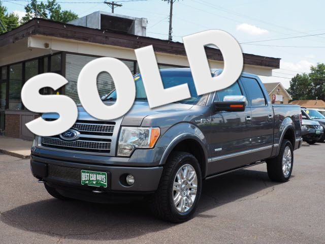 2011 Ford F-150 Platinum Englewood, CO