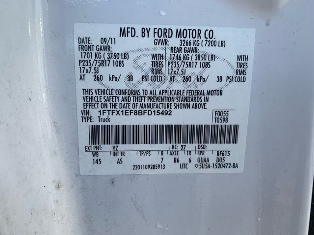 2011 Ford F-150 XL Hoosick Falls, New York 6