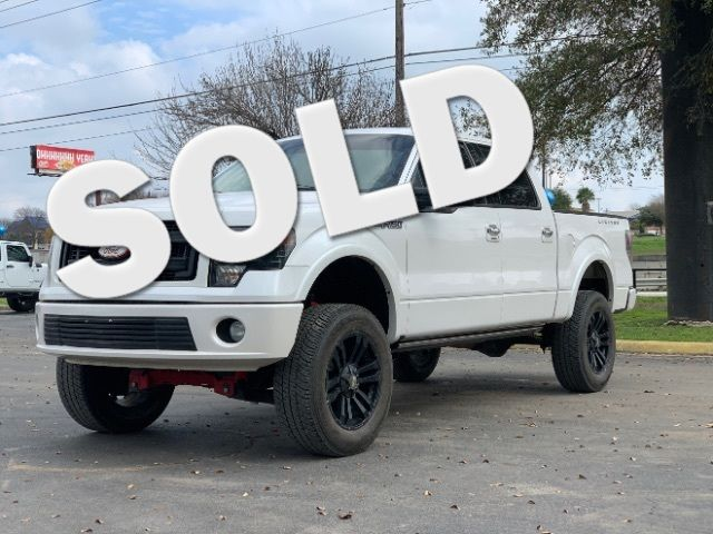 2011 Ford F-150 Platinum in San Antonio, TX 78233
