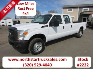2011 Ford F-250 4x4 Crew-Cab Long Box Pickup in St Cloud, MN