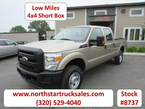 2011 Ford F-250 4x4 Crew-Cab Short Box Pickup  in St Cloud, MN