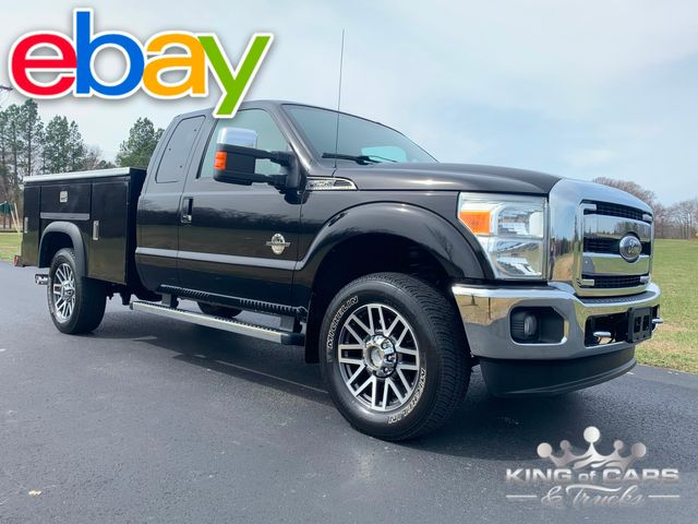 2011 Ford F-250 Lariat 4x4 UTILITY BODY WORK TRUCK LOADED