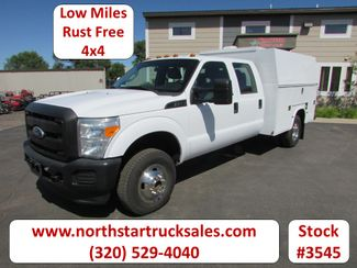 2011 Ford F-350 4x4 Crew-Cab Service Utility Truck   St Cloud MN  NorthStar Truck Sales  in St Cloud, MN