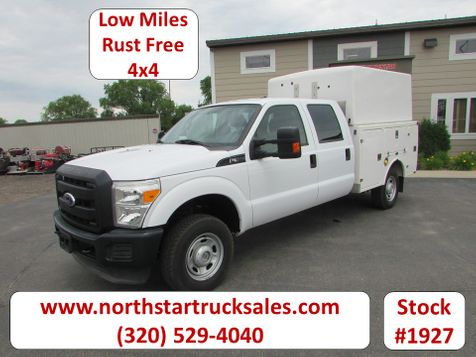 2011 Ford F-350 4x4 Crew-Cab Service Utility Truck  in St Cloud, MN