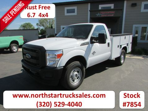 2011 Ford F-350 6.7 4x4 Reg Cab Service Utility Truck  in St Cloud, MN