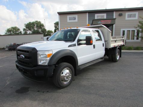 2011 Ford F-450 4x2 Crew Cab 9' Stainless Contractor Dump  in St Cloud, MN