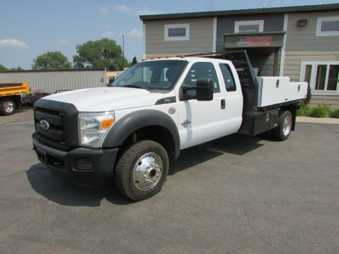 2011 Ford F-450 4x4 Ext Cab Flat Bed   Truck  in St Cloud, MN