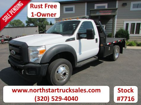 2011 Ford F-450 4x4 Flatbed Truck  in St Cloud, MN