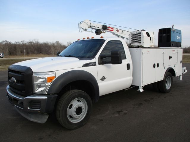 2011 Ford  F-550 4X4 IMT CRANE TRUCK 6.7 DIESEL Lake In The Hills, IL 1
