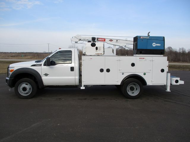 2011 Ford  F-550 4X4 IMT CRANE TRUCK 6.7 DIESEL Lake In The Hills, IL 2